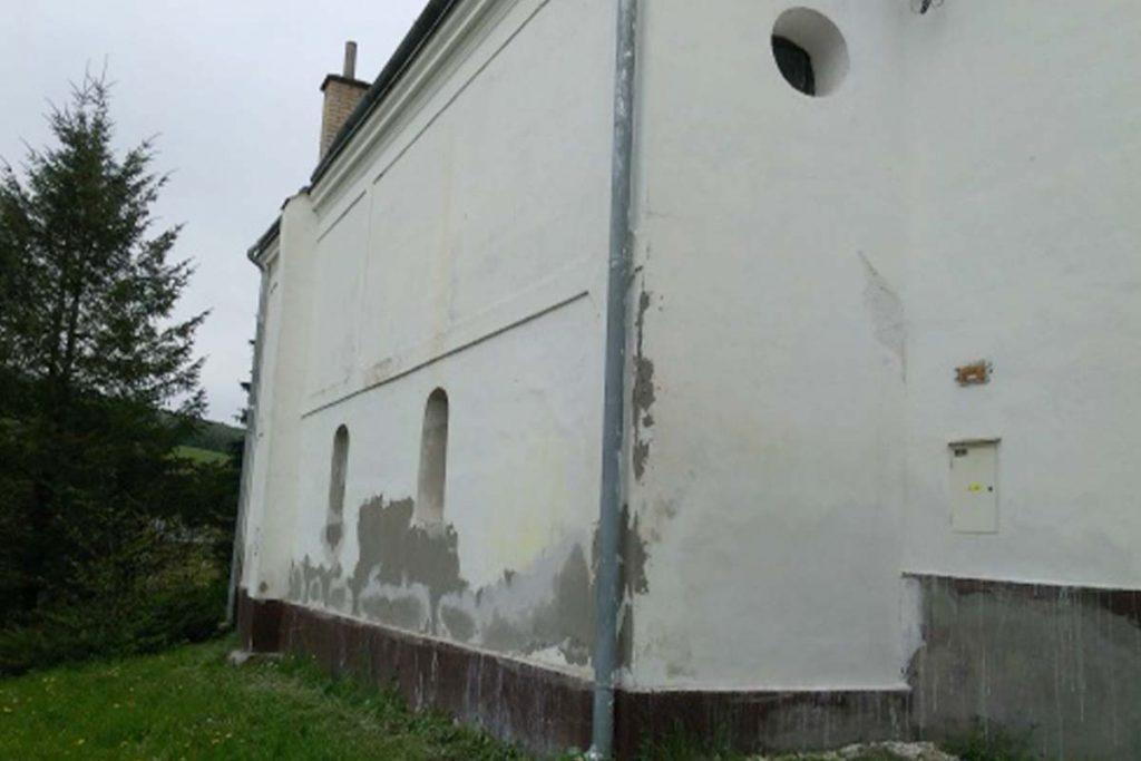 KIESH Oprava kostolov