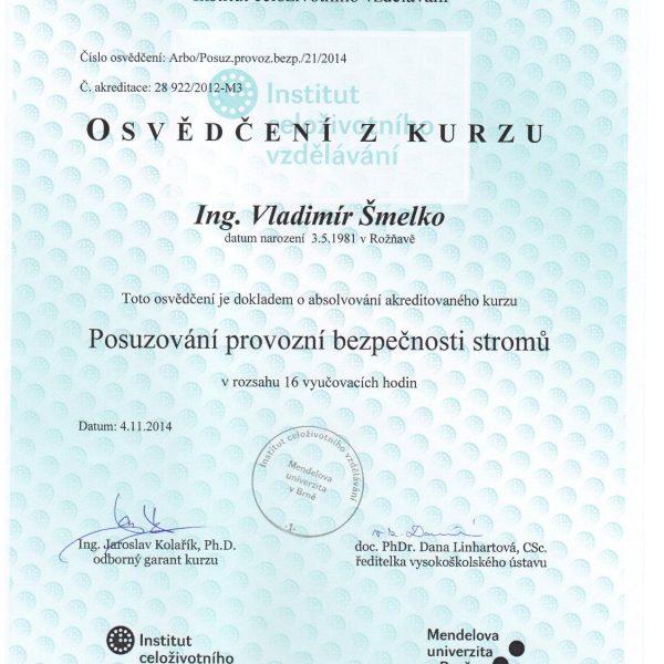 KEISH Posudzovanie prevádzkovej bezpečnosti,Mendelova univerzita Brno